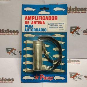 Supresor de Parásitos con Amplificador AM/FM para antena autorradio. Piezo.