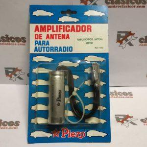 Amplificador antena AM/FM para autorradio. Piezo.